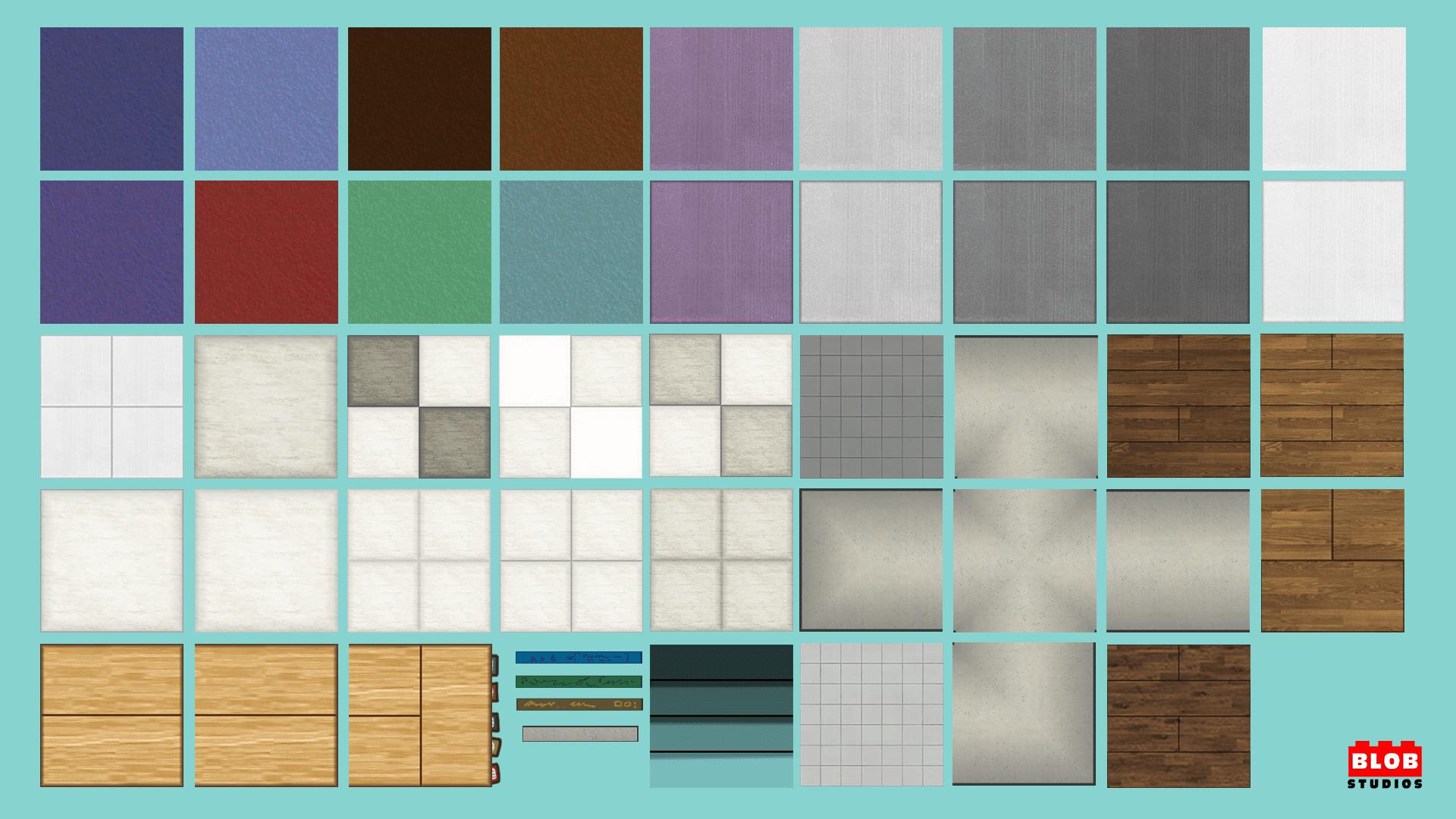 School Nightmare Floor Tiles