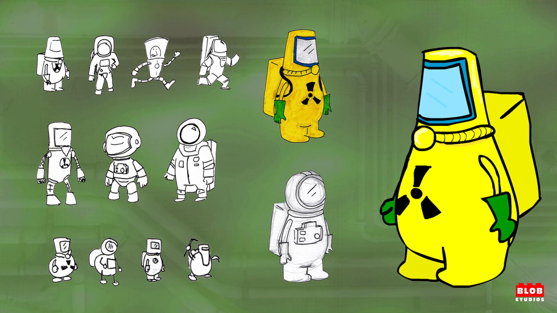 Gamma Man Characters
