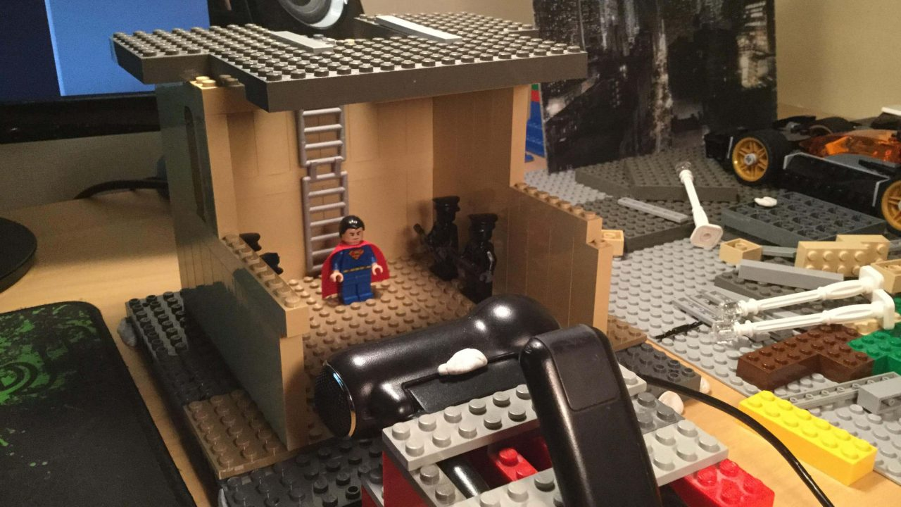 Lego Batman v Superman 01